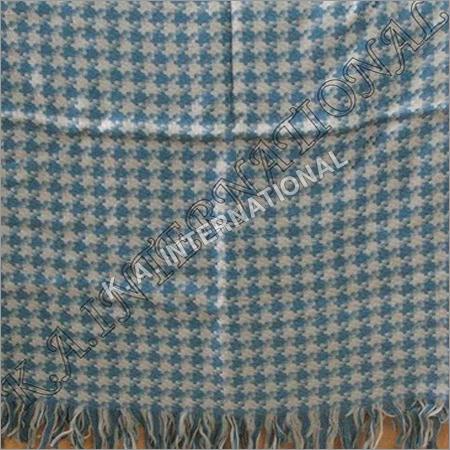 Pashmina Figure Weave Wool Thro