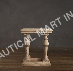 ENGLISH BALUSTRADE SIDE TABLE