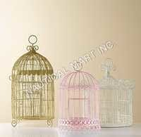 DECORATIVE BIRDCAGE SET OF 3