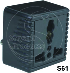 Universal Conversion Plug Square Model 2 Pin