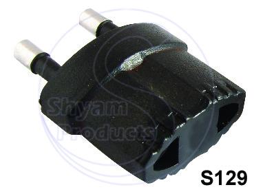 Conversion plug 3 in 1 Round Pin