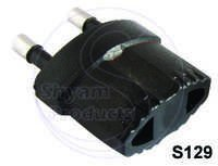 Conversion plug 3 in 1 Round Pin