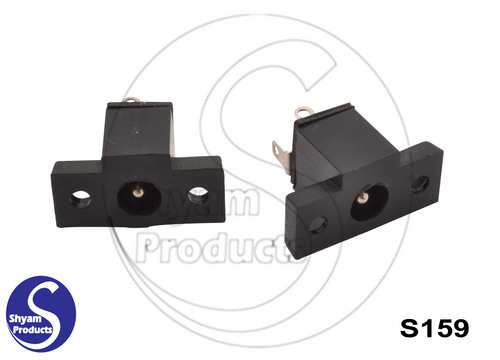 DC socket 5.5x2.1-2.6Panel mount