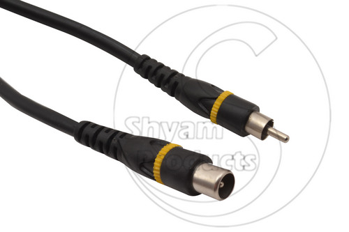 RF Male RCA Plug Cord (NEW Premium Quality)