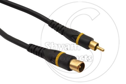 RF Male  RCA Plug Cord (G.P.)