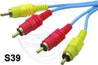 2RCA  2 RCA Plug Cord (G.P.)
