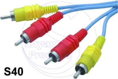 2RCA  2 RCA Plug Cord