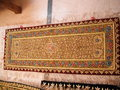 Gold Hand Embroidered Jewel Carpet