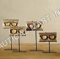 EYEGLASS MOLDS ON STANDS (SET OF 4)