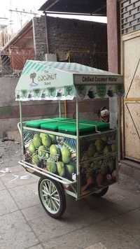 Coconut Water Trolley