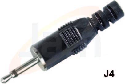 EP Plug 2.5 mm DLX