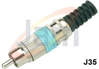 RCA  Co-Axial Plug (F.M)