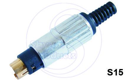 4 Pin Din Plug (G.P.)