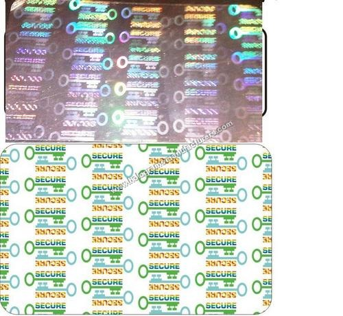 Holographic ID Card overlay
