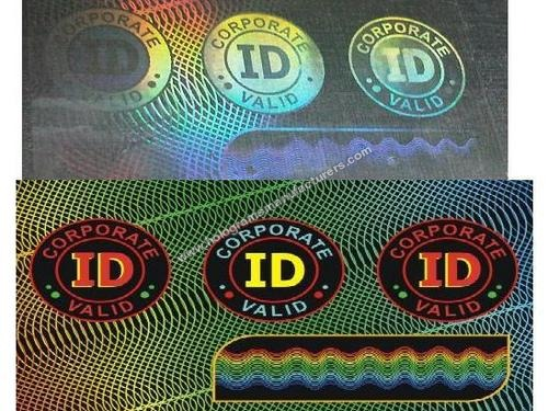 ID CARD OVERLAY HOLOGRAMS