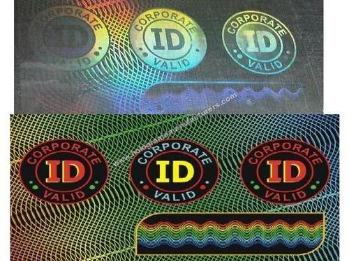 ID CARD OVERLAY HOLOGRAMS