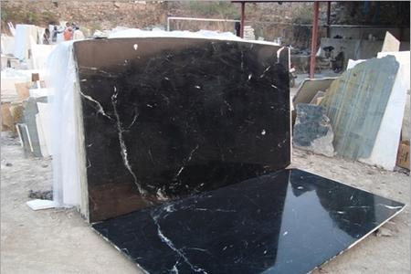 Marine Black Marble