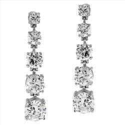 3/4 CT JOURNEY OF LIFE 14K GOLD DIAMOND EARRINGS # INTE002