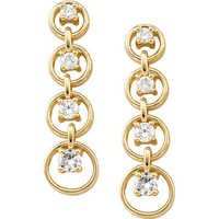 1/2 CT JOURNEY OF LIFE 14K GOLD DIAMOND EARRINGS # INTE003