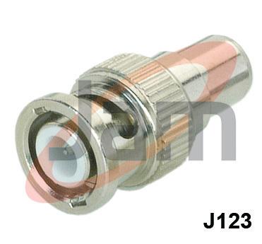 BNC Plug  RCA Socket Adaptor