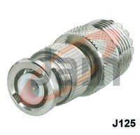 BNC Plug  UHF Socket (PTFE)