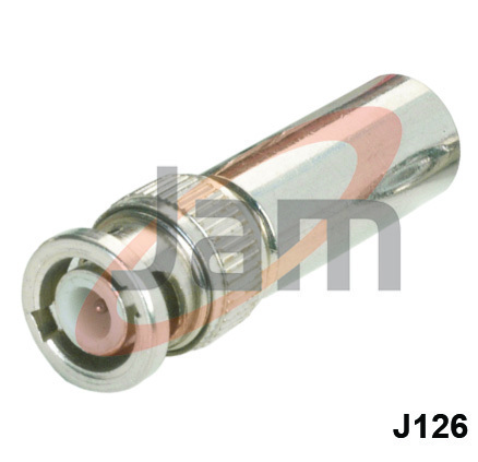 BNC Plug  Mort Socket Adaptor