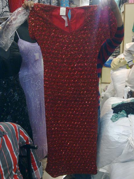 Beads Long Dress