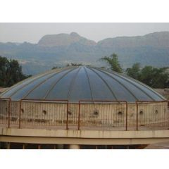 Outdoor FRP Domes