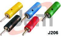 2mm Banana Plug Stackable With Wire Type Spring