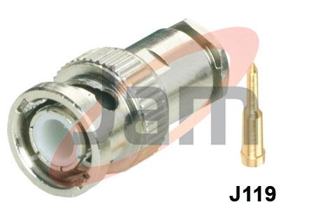BNC Plug Industrial (PTFE)