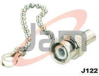 BNC Terminator With Chain Available in 50, 75, 93