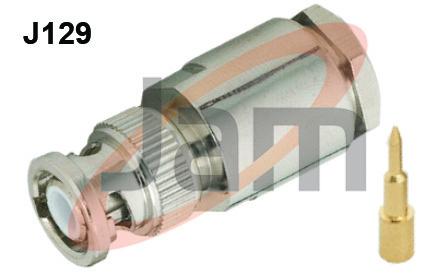 BNC Plug Clamp Type 213 U (PTFE)