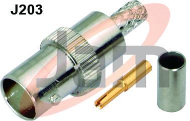 BNC Socket Crimp Type  (Derlin)