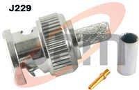 BNC Plug Crimping Type RG58U Cable ( PTFE ) Reve