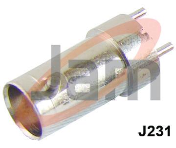 BNC Socket PCB Mounting Type ( PTFE )