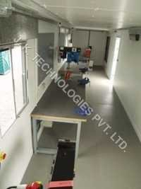 Site Workshop Container with Work Bench