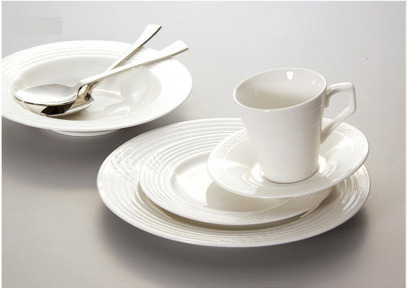 Cup saucer & Bowl with spoon