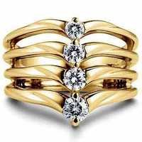 1/2 CT FASHION OF LIFE 14K GOLD DIAMOND RING