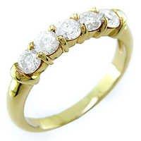 1.02 CT BRIDAL OF LIFE 14K GOLD DIAMOND RING