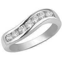 1/2CT ENTERNITY OF LIFE 14K GOLD DIAMOND RING