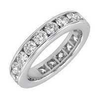 1.00CT ENTERNITY OF LIFE 14K GOLD DIAMOND RING