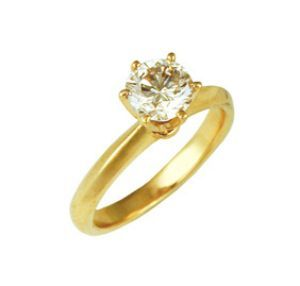 14k Gold Diamond Rings