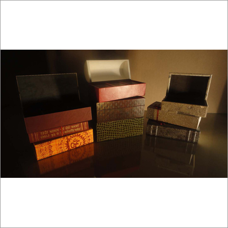 Leather Stationery Boxes