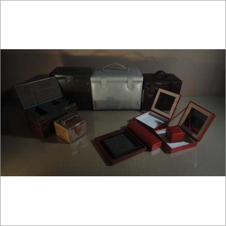Designer Leather Jewellery Boxes