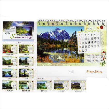 Exotic Scenery Calendars