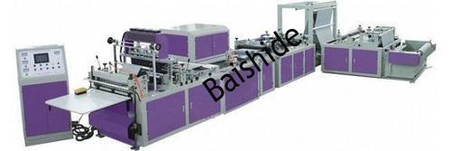 Automatic tridimensional  bag making machine
