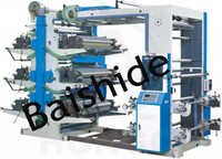 bs Series Six Color Flexographic Printing Machine