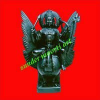 Marble Shani Statue