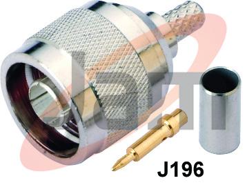 N Male Crimp Type RG - 58U (PTFE) copy