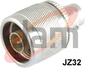 N  Male  BNC Socket Adaptor ( PTFE )